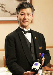 Chef and Sommelier 志村 武士 Takeshi Shimura